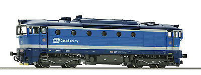 "Roco TT 36400 Diesel Locomotive RH 754 of the CD "" Novelty 2017 "" - Neu + OVP"