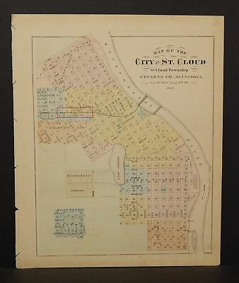 Minnesota City of St.Cloud or Glencoe  *Special Purchase 1874 K15#14