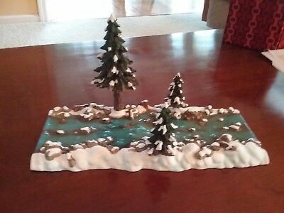 NEW Dept 56 Mill Creek Straight Section  52633 NIB Snow Village Heritage D56