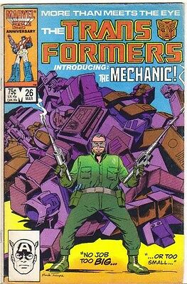 The Transformers #26 FN (1987) Marvel Comics