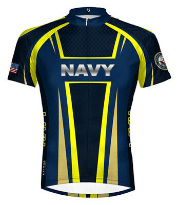 ba397bbc8 Primal Wear Navy USN Team Cycling jersey Men s Short Sleeve with Socks