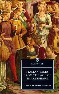 Italian Tales from the Age of Shakespeare * Pamela Benson pb 1996 NEW