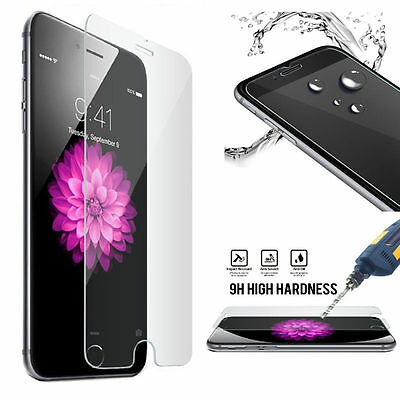Premium Tempered Transparent Glass Film Screen Protector For iPhone 6 6s 7 Plus