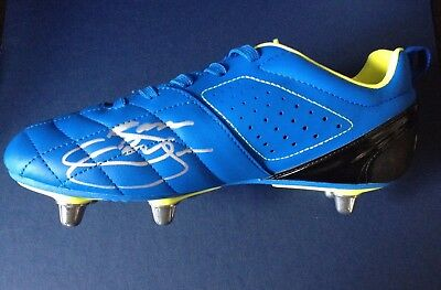 Jason Robinson - England Rugby World Cup Winner - Signed Rugby / Football Boot