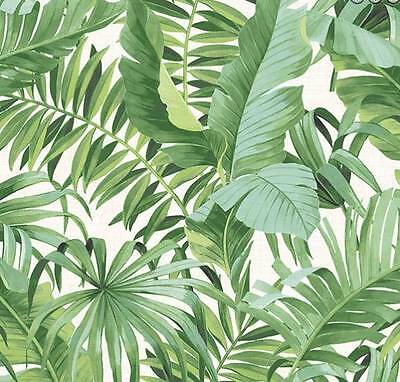 Alfresco Palm Leaf Wallpaper Green