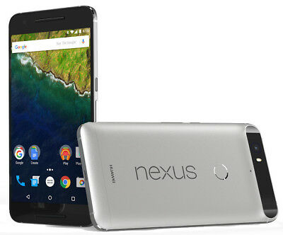 Huawei Nexus 6P 32GB Silver (Unlocked/SIM FREE) 1 Year Warranty Good Condition