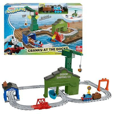 Thomas and Friends - Cranky At The Docks Playset - Adventures Mattel