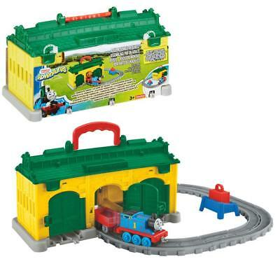 Thomas and Friends - Portable Tidmouth Sheds Playset - Adventures Mattel
