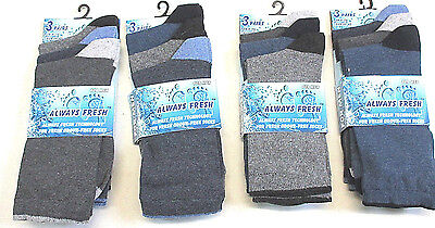 1fbd6567f05d 12 pairs mens Cotton Rich dress Socks work men gents size 6-11 HEEL TOE