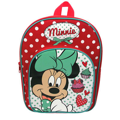 Minnie Mouse Day Out Backpack with Front Pocket School Bag Rucksack