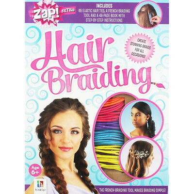 Hair Braiding Book and Kit by Kate Hewat, Children's Books, Brand New