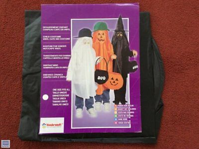 HALLOWEEN COSTUMES REDUCED CLEAR CHILDRENS 1 SIZE  CLEARANCE WITCH COSTUME plast