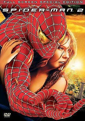 SPIDERMAN 2 (DVD, 2004, 2-Disc Set, Special Edition, Fullscreen, Includes Insert