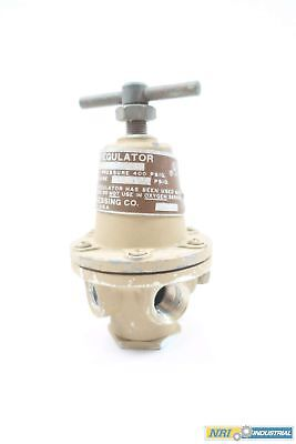 Rego 1683 0-125Psi 3/8 X 1/4 In Npt Pressure Reducing Regulator Valve D577144
