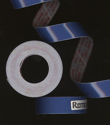 1x ORIGINAL DYMO 12,7mm x 1,0M PRÄGEBAND BLACK schwarz GLANZ etiketten label