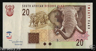 SOUTH AFRICA (P129a) 20 Rand ND(2005) VF+