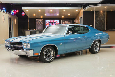 1970 Chevrolet Chevelle  Frame Off Restored! GM 454ci V8, 4-Speed Manual, Posi, PS, PB, Buckets & Console