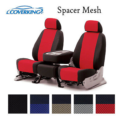 Coverking Custom Front Row Seat Covers Spacer Mesh - Choose Color