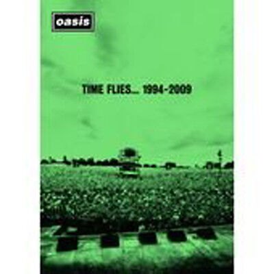 Oasis Time Flies 1994 To 2009 Dvd Brand New Region 2