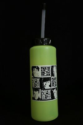 New Kids on the Block 1989 Neon Yellow Drink Cup NKOTB