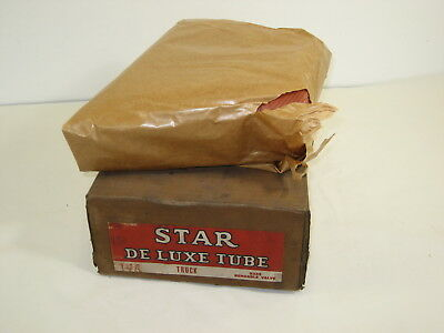 Vintage 1960's Star Deluxe Service Station Red Inner Tube With Box