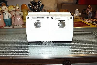 1950 Westinghouse Advertising Washer Dryer Salt And Pepper Shakers S&p Giveaways