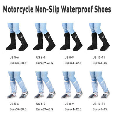 Waterproof Raingear Motorcycle Outdoor Protective Gear Rain Suit Boot Shoe Cover