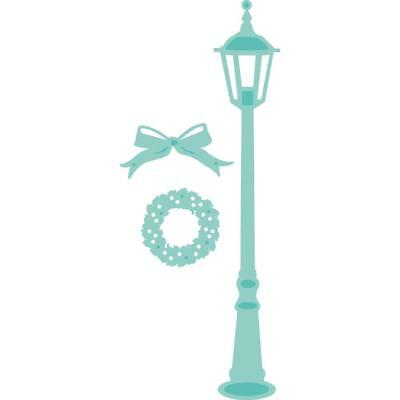 Kaisercraft Die Set - CHRISTMAS LAMP POST - use in most machine - DD452