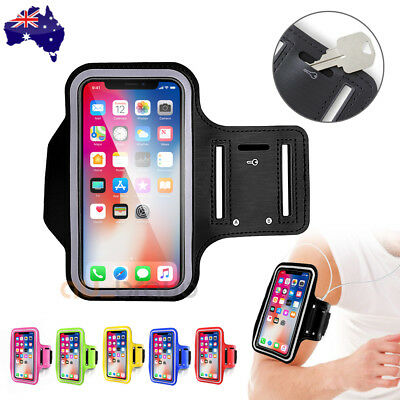 Sports Gym Armband Arm Case Running Exercise for Apple iPhone X 8 7 6s Plus