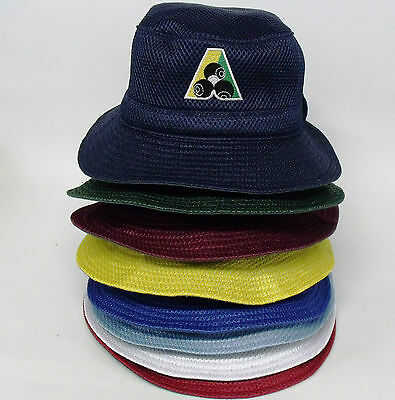 Bowls Australia Logo Lawn Bowls Mesh Hat Variety of colours available Folds flat