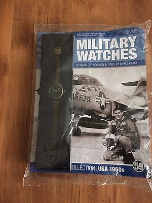Eaglemoss Military Watches Collection Issue 59 American Pilot Watch New
