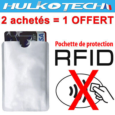 Pouch Protection Rfid / NFC for Card Bank - Case Protector Security