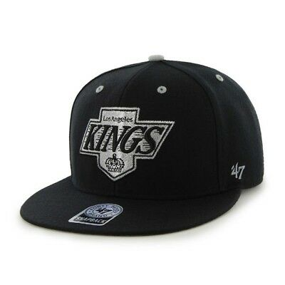 RR BNWT 47 Brand 47' OFFICIAL NHL LA LOS ANGELES KINGS SNAPBACK CAP One Size Men