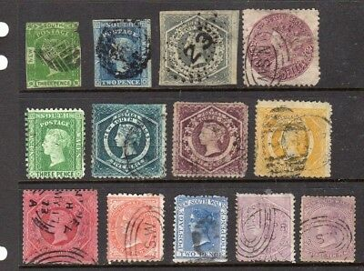 New South Wales - 1852-1907 - used collection