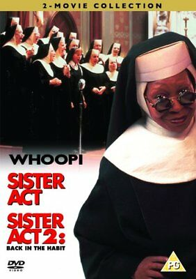 Sister Act/Sister Act 2 Back In The Habit DVD New 2008 Region 2