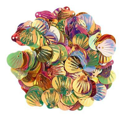 15g Seashell Table Confetti Party Decor Foil Sprinkles Scrapbooking Crafts