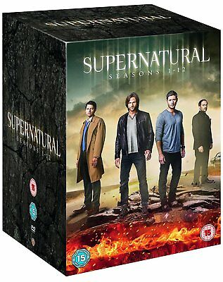 SUPERNATURAL COMPLETE SEASON 1 2 3 4 5 6 7 8 9 10 11 & 12 DVD BOX SET R4 New