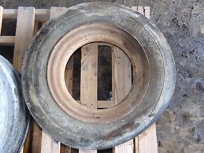 FARMALL  F 20 Tractor Two Front Tires 6.00 - 16