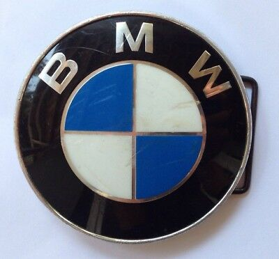 BMW Belt Buckle Made With An Actual Vintage Hood Ornament