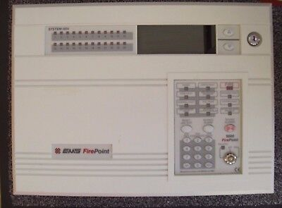 £1200 EMS Firepoint System 5024, 24 Zone Radio Fire Panel 53-5024