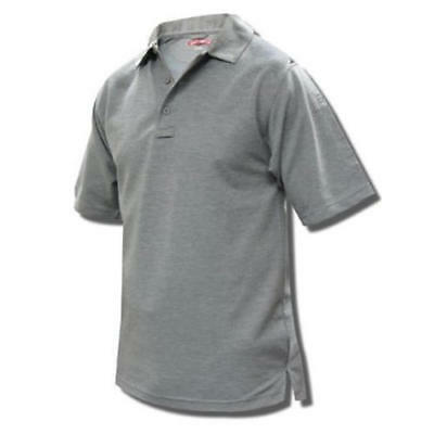 Tru-Spec 4338003 Men's 24-7 Short Sleeve Polo Heather Grey Small-Regular
