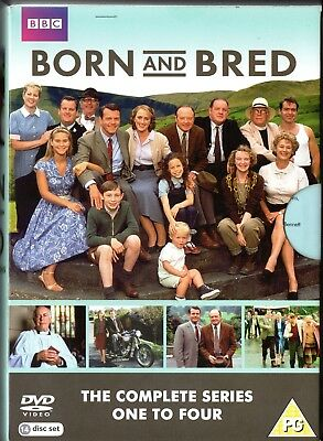 BORN AND BRED Complete Collection (Series 1-4) Original UK 14 DVD Box set