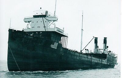 "Ship Photo: U.s. Tanker/whale Factory Ship ""ulysses""  Built 1915"