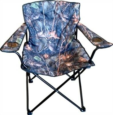 QAC World Famous Folding Camp Chair Burly Camo Burly Camo