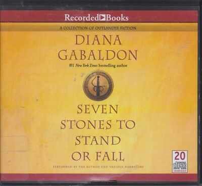 SEVEN STONES TO SATND OR FALL by DIANA GABALDON ~UNABRIDGED CD AUDIOBOOK