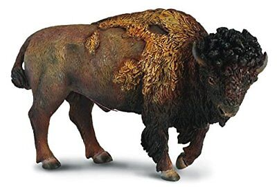 Breyer CollectA 88336 American Bison Buffalo  realistic well made miniatures <><