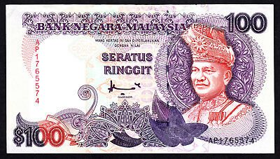 Malaysia 100 Ringgit ND 1998 P. 32C Printer: Harrison & Sons VF Note