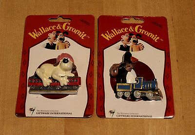 Wallace And  Gromit  Penguin On Train - The Wrong Trousers Magnets  Rare Mint