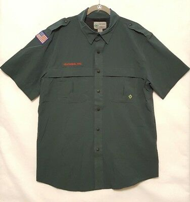 Mens BSA Venturing Button Up Shirt Size 2X Boy Scouts of America