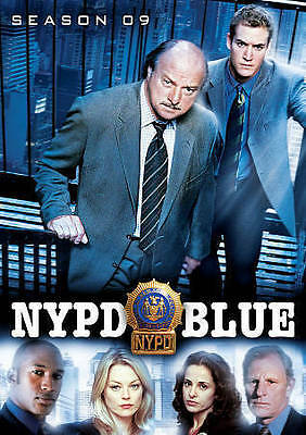NYPD Blue: Season Nine (DVD, 2016, 5-Disc Set)